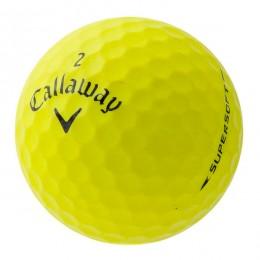 50 Callaway Supersoft Lakeballs, yellow