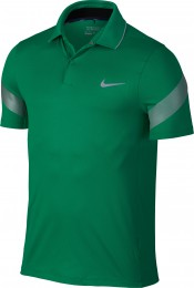 Nike MM Fly Framing Commander Polo, lucid green/reflective silver