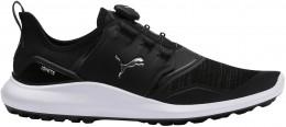 Puma Ignite NXT Disc Golfschuh, black/silver/white