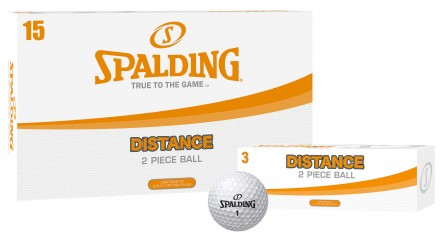 Spalding Distance Golfbälle, white
