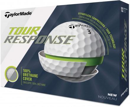 TaylorMade Tour Response Golfbälle, white