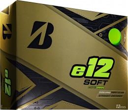 Bridgestone e12 SOFT Golfbälle, green