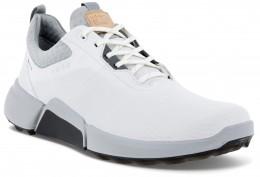 ecco Golf Biom Hybrid 4 GTX Gore-Tex Golfschuh, white/concrete