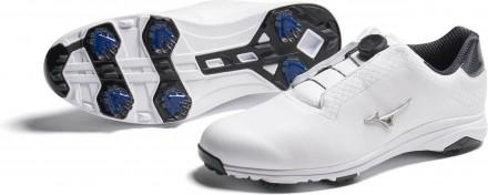 Mizuno Nexlite Pro BOA Golfschuh, white/silver