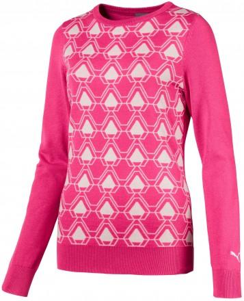 Puma Dassler Sweater, carmine rose
