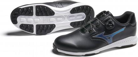 Mizuno Nexlite GS BOA Golfschuh, black/blue