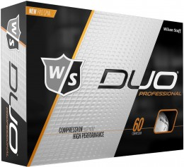 Wilson DUO Professional Golfbälle, white