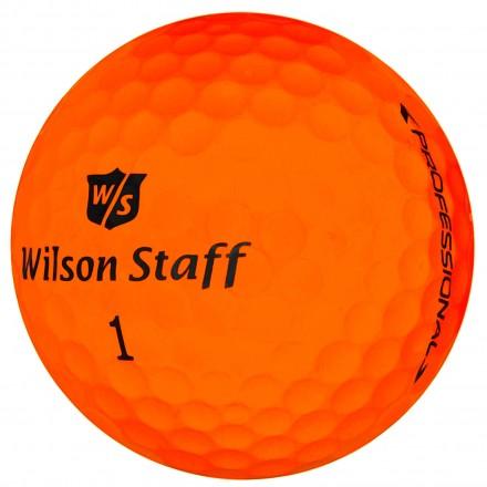 Wilson Staff DUO Professional Golfbälle, orange