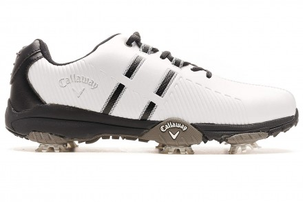 Callaway Chev Mulligan Golfschuh, white/white/black