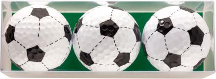 Sportiques 3er Ball-Geschenkset Fußbälle
