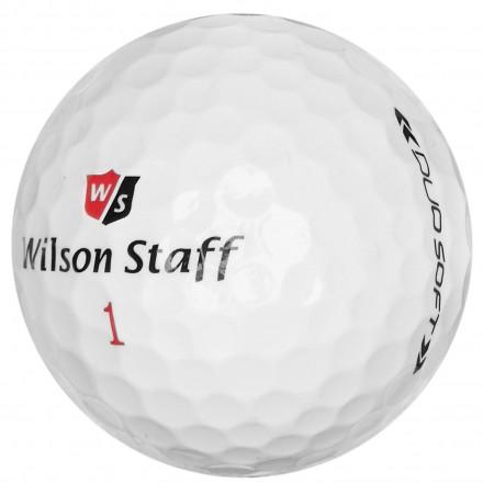 Wilson Staff DUO Soft Golfbälle, white