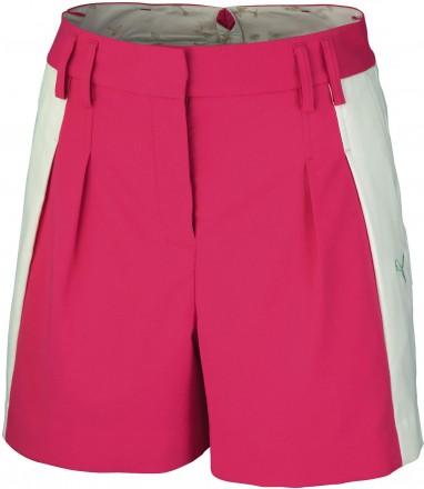 Puma Golf Colorblock Shorts, cabaret white