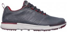 Skechers Golf Elite V.3 LX, charcoal/red