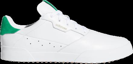 adidas Adicross Retro Golfschuh, white/green/gum