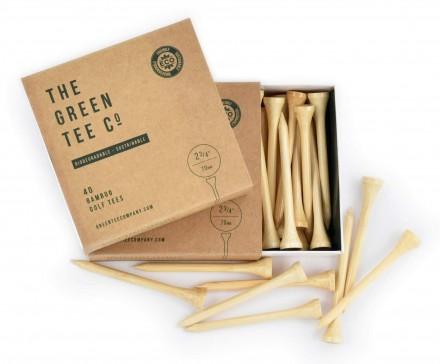 par71 40 x 2 3/4 inch Bambus-Tees, 100% recyclebar
