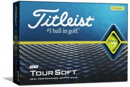 Titleist Tour Soft Golfbälle, yellow